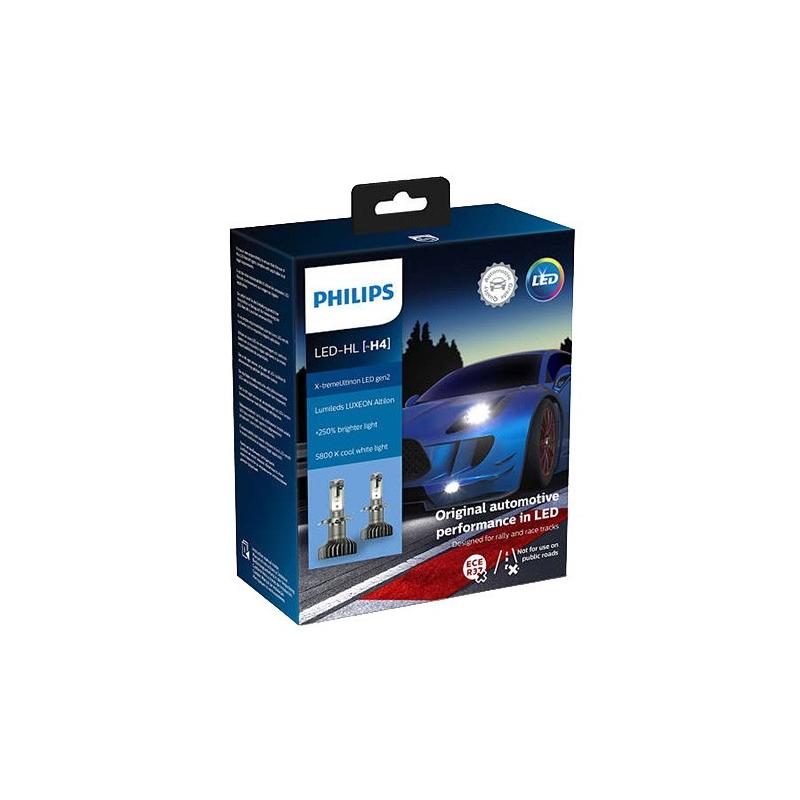 Philips Żarówki LED H4 X-tremeUltinon LED Gen2