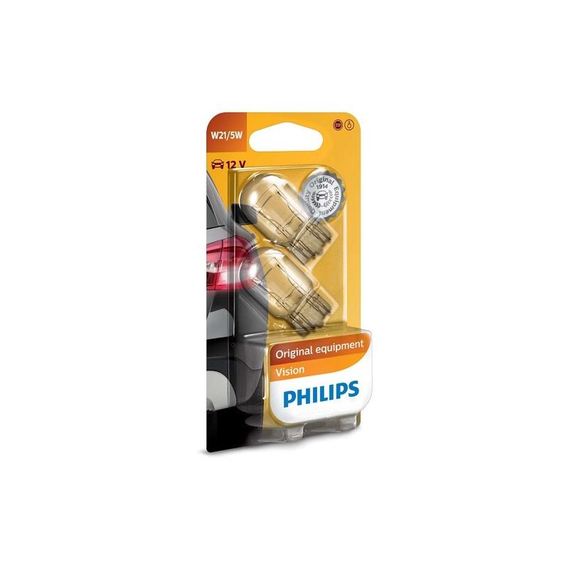 Philips Żarówki W21/5W Vision |...