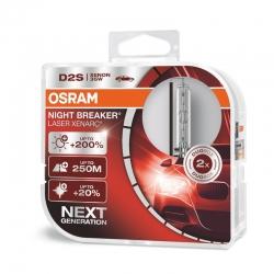 Osram® Żarówki D2S Xenarc® Night Breaker® Laser + 200%