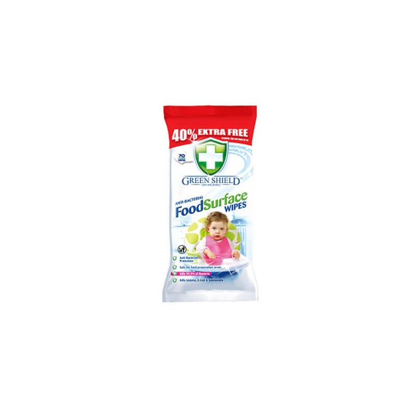 Green Shield Food Surface Wipes -...