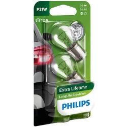 Philips Żarówki P21W LongLifeEcoVision