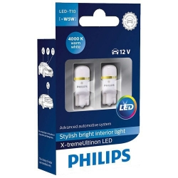 Philips T10 W5W X-tremeUltinon LED 4000 K