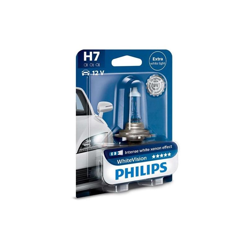 Philips Żarówka H7 White Vision | 1 szt.