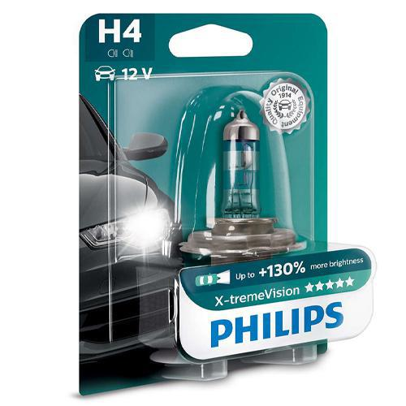 Philips Żarówka H4 X-tremeVision | 1...