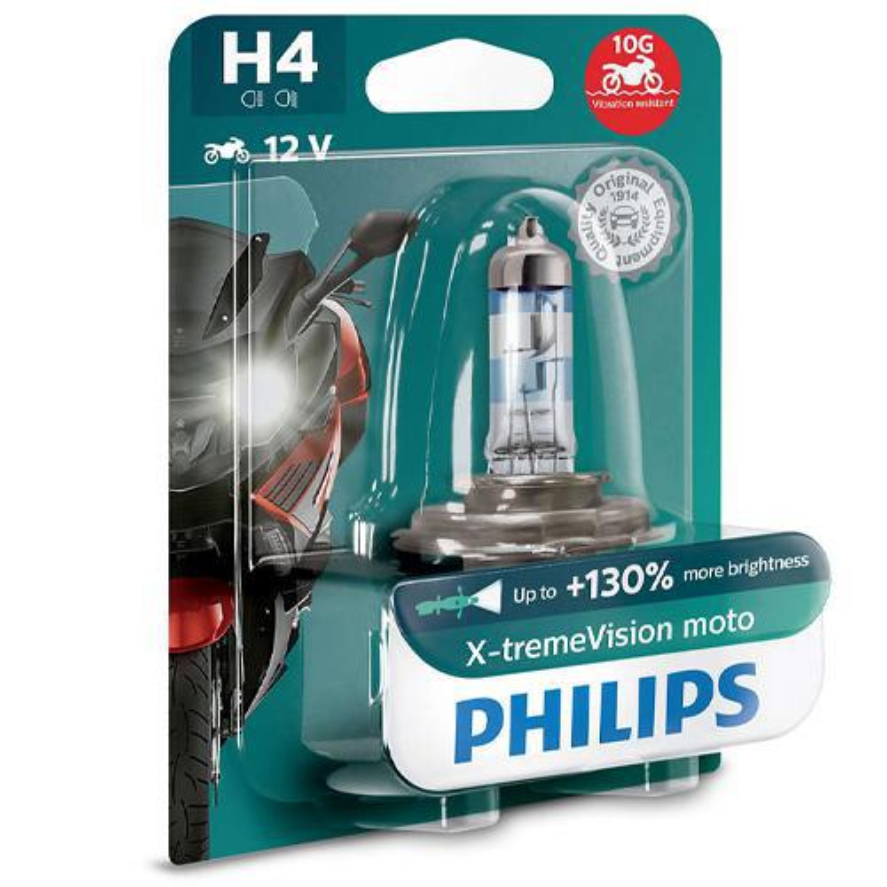 Philips Żarówka H4 X-tremeVision Moto...