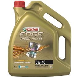 CASTROL EDGE Turbo Diesel 5W40 | 5L