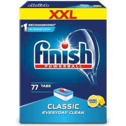 FINISH Classic Lemon TABLETKI do zmywarki | 77 szt.