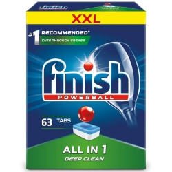 Finish All in One 63 szt. - Tabletki do Zmywarki
