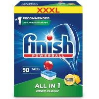 Finish All in One Lemon 90 szt. - Tabletki do Zmywarki