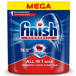 Finish All in One Max 76 szt. - Tabletki do Zmywarki