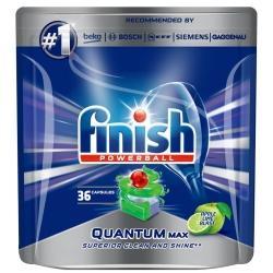 Finish Quantum Max Apple-Lemon 36 szt. - Tabletki do Zmywarki