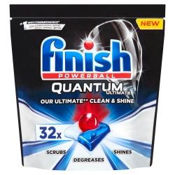 Finish Quantum Ultimate 32 szt. - Tabletki do Zmywarki