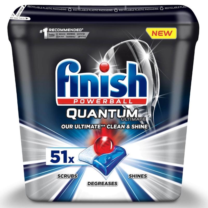 FINISH Quantum Ultimate 51 szt. - Tabletki do Zmywarki