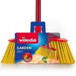Vileda Garden 2w1 - Szczotka do Sprzątania na Zewnątrz