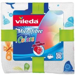 Ściereczka z Mikrofibry Vileda Colors | 3 szt.