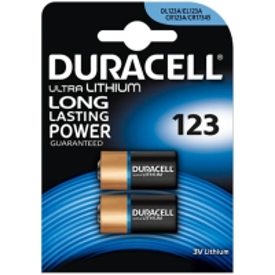 Duracell CR123 | Bateria Litowa | 2 szt.