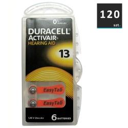Duracell Baterie do Aparatów Słuchowych 13 | 120 szt.