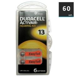 Duracell Baterie do Aparatów Słuchowych 13 | 60 szt.