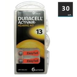 Duracell Baterie do Aparatów Słuchowych 13 | 30 szt.