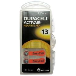 Duracell Baterie do Aparatów Słuchowych 13 | 6 szt.