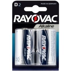 Rayovac Alkaline D - Baterie Alkaliczne