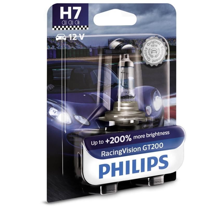 Philips Żarówki H7 RacingVision GT200...