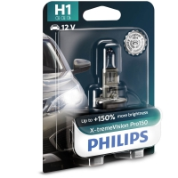 Philips Żarówki H1 X-TremeVision Pro150 +150% | Blister