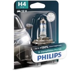 Philips Żarówka H4 X-TremeVision Pro150 +150% | Blister