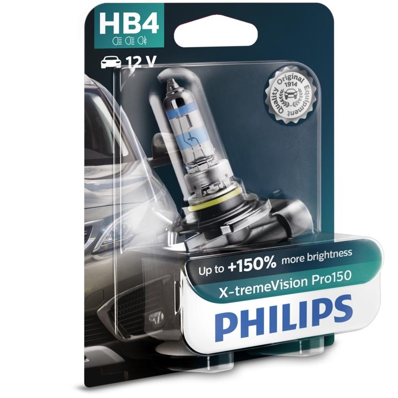 Philips Żarówka HB4 X-TremeVision Pro150 +150%   Blister
