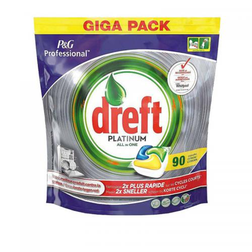 Dreft Fairy Platinum Lemon - Tabletki...